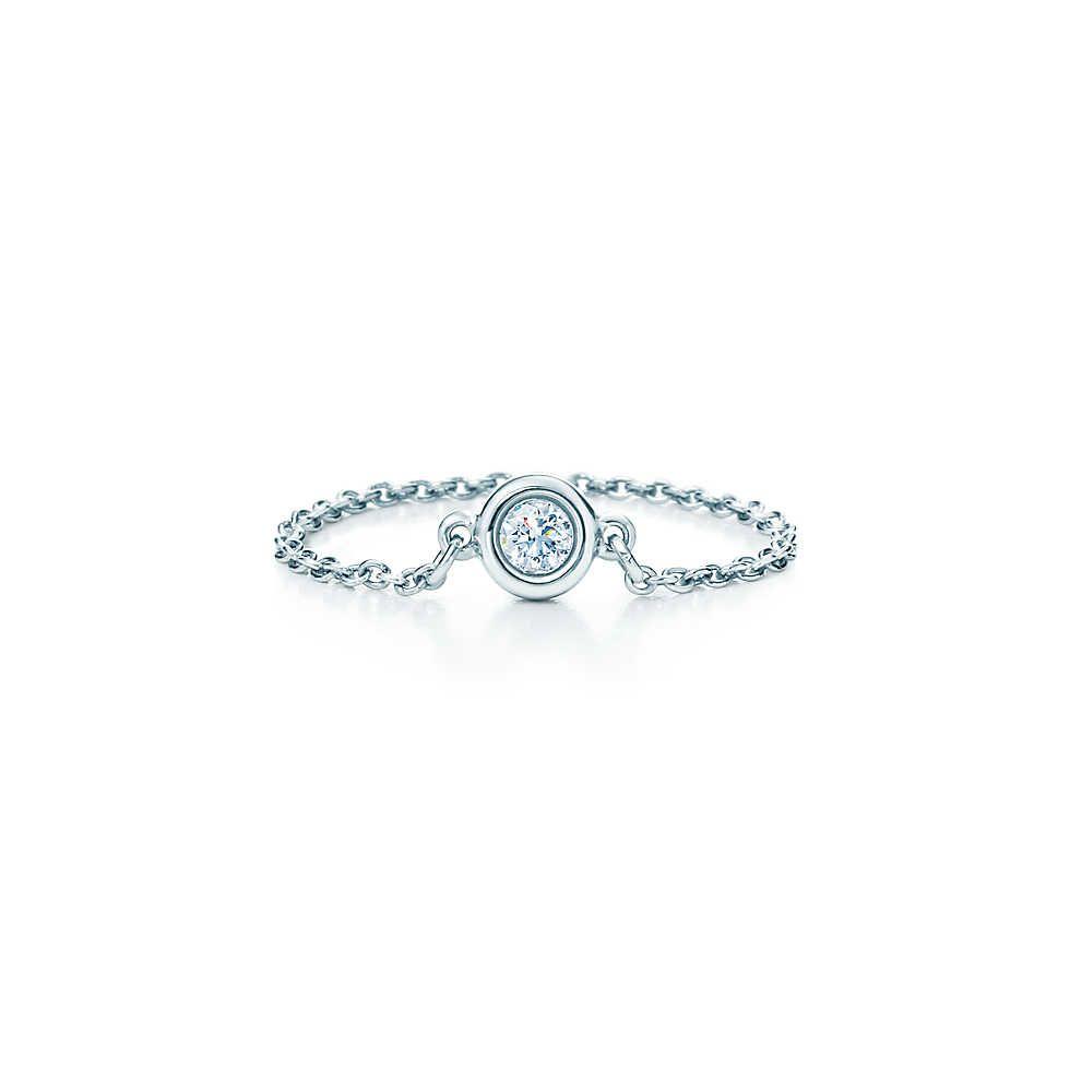 Elsa peretti diamonds by the yard ring elsa peretti for Diamonds by the yard ring