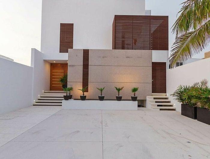 Le minimalisme en architecture contemporaine en 53 photos! Piscine - Dalle Pour Parking Exterieur