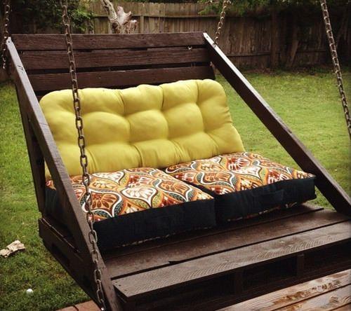 Garden Decor Using Pallets: Garden Furniture Ideas From Repurposed Pallets