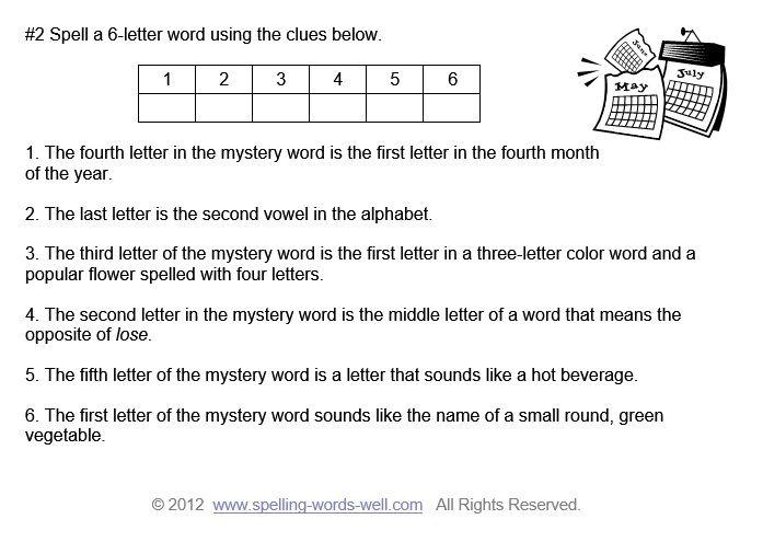 Spelling Brain Teasers For Kids Pinterest Brain Teasers Teaser