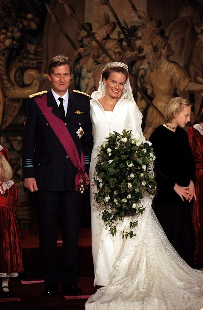 The King And Queen Of Belgium Royal Brides Fairy Tale Wedding Dress Royal Wedding Dress