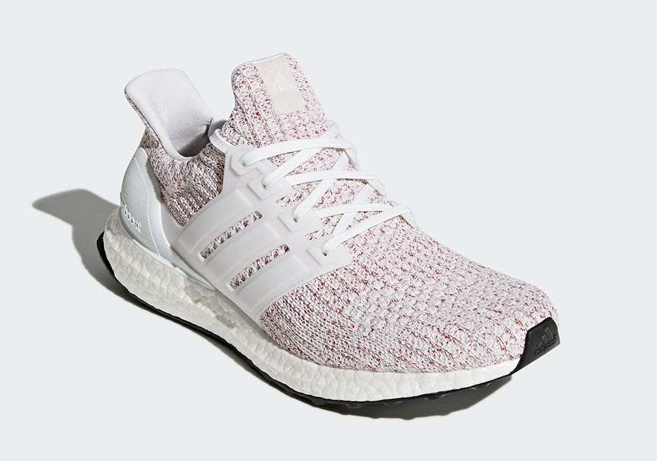 "07382ca1133  sneakers  news The adidas Ultra Boost 4.0 Drops In A Seasonal ""Candy Cane""  Colorway"