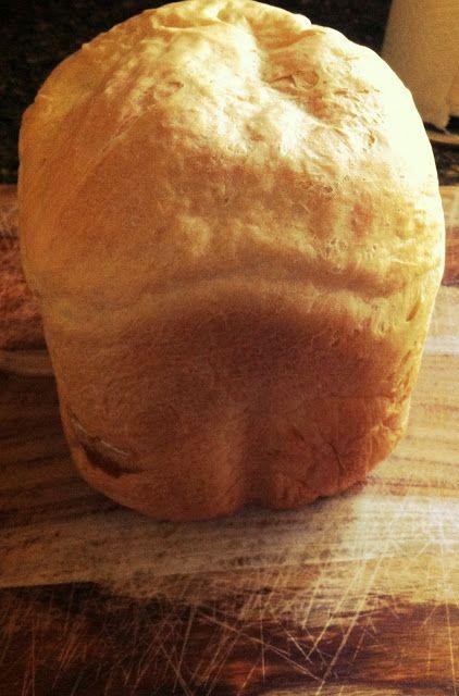 Bread machine buttermilk bread recipe, less than 5 minutes of work for fresh delicious bread
