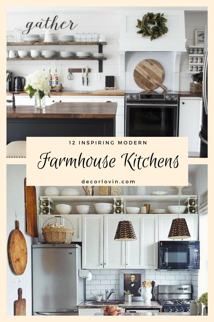 12 Inspiring Modern Farmhouse Designs