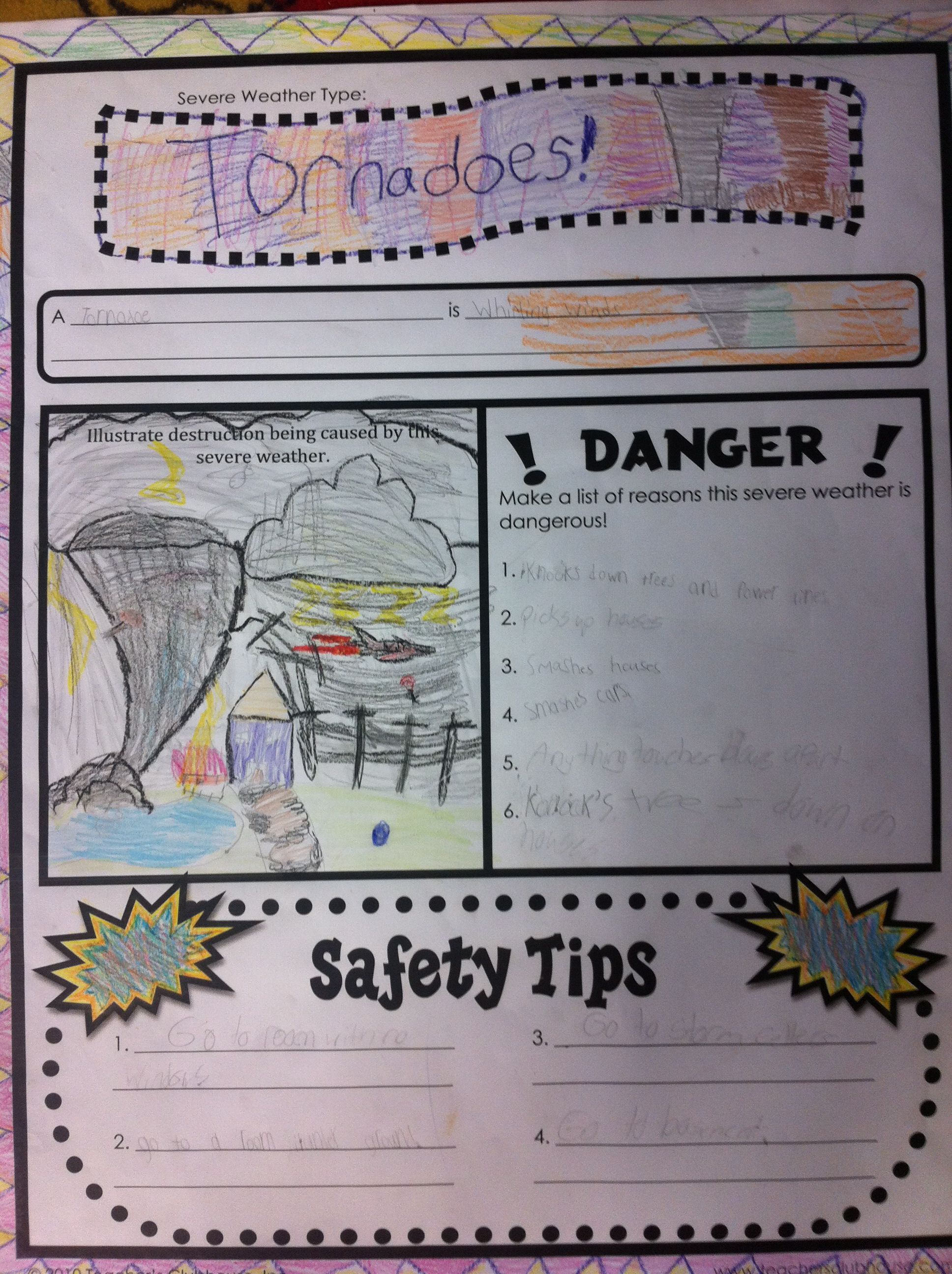 Use A Poster Printer To Turn Pages Into Posters For Group Work Http Www Teachersclubhouse Com Sci Teaching Weather Severe Weather Activities Weather Lessons [ 2592 x 1936 Pixel ]