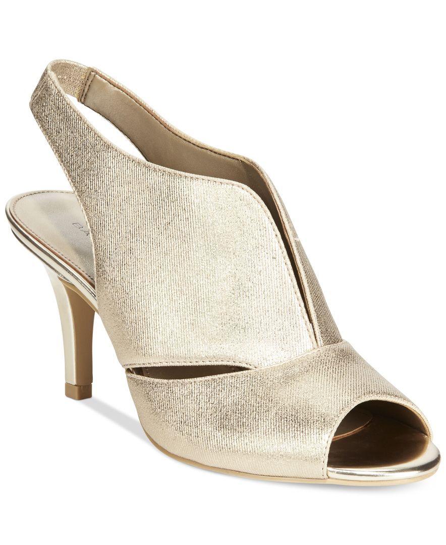 Bandolino Mirabella Slingback Dress Heels