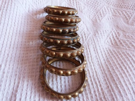 7 curtain rings Antique French Chateau by MyFrenchAntiqueShop, $24.99