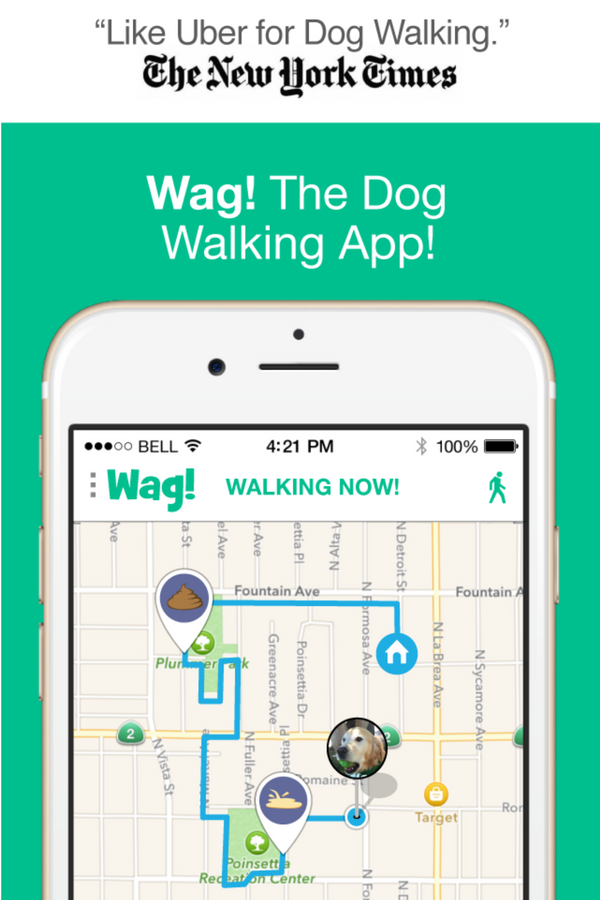 Wag! The dog walking app. Book dog walkers & track the