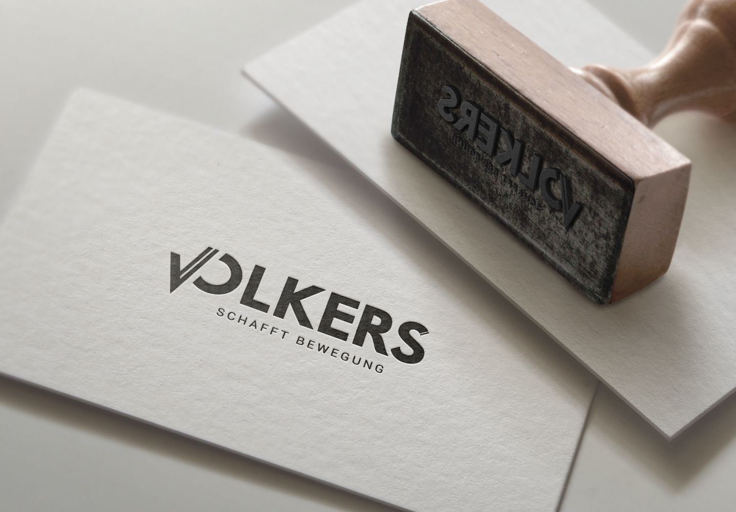 Volkers Fahrschule In Marl Logo Update Designed By
