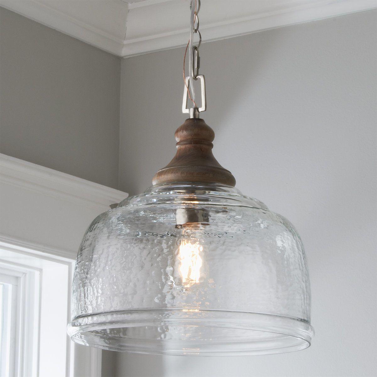 Organic Rippled Glass Pendant In 2021 Glass Pendant Light Glass Lighting Kitchen Lighting Fixtures Glass shades for hanging lights