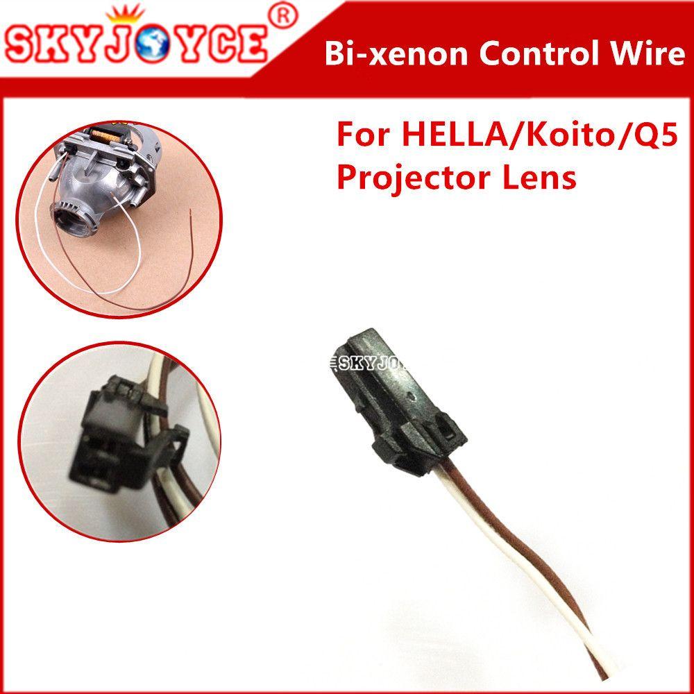 1x Original Hella Projector Control Wire Q5 Bi