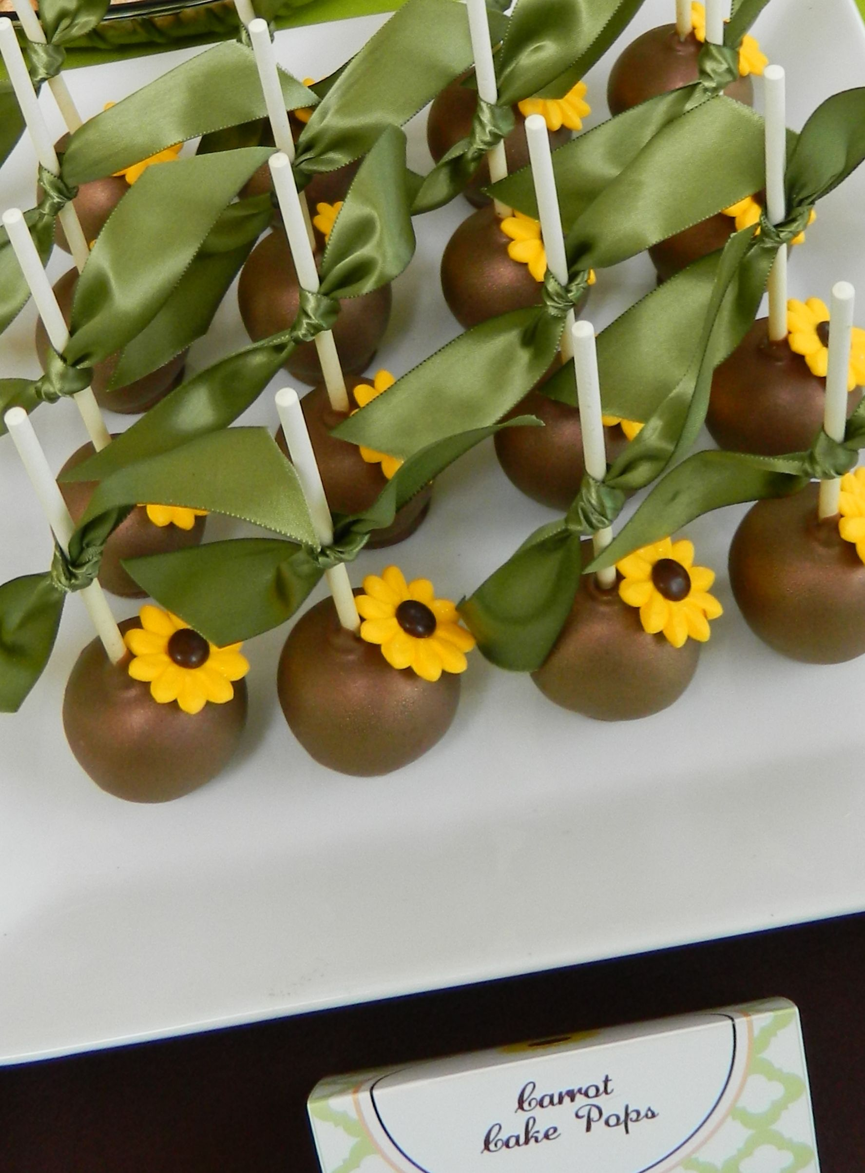 Sunflowers and wine birthday party ideas sunflower cakes