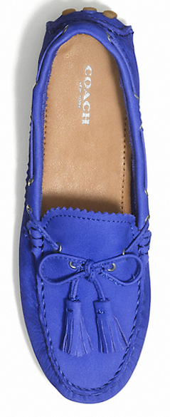 Driving moccasins from #Coach for 50% off http://rstyle.me/n/km7urnyg6