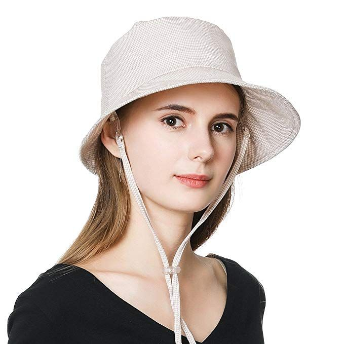 ddf0694ac6629 Siggi Crushable UPF50 Summer Sun Hat Women Safari Beach Bucket Hats 55-59CM  Review