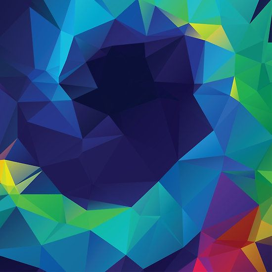 Abstract colorful geometric background also redbubble rh pinterest