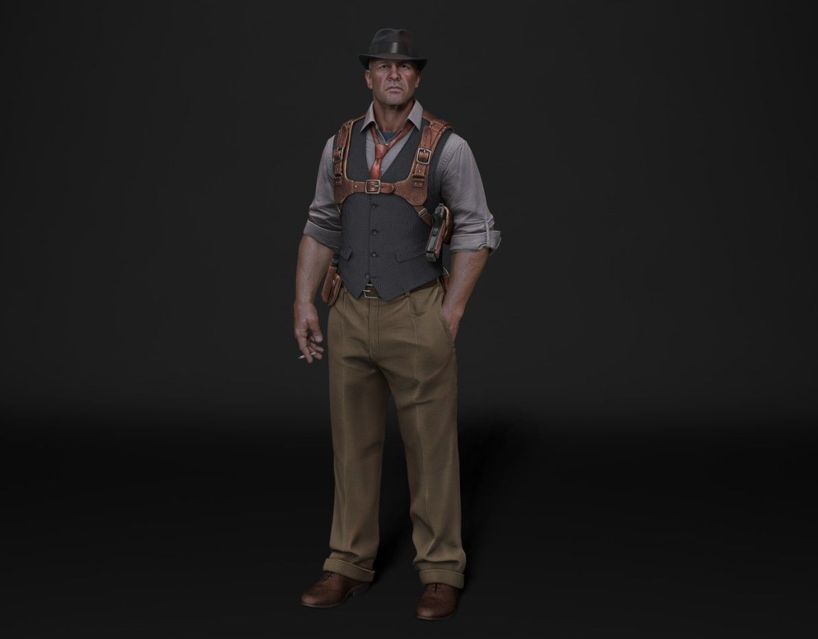 Pin on Character 3D Models