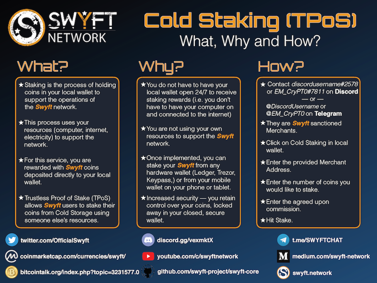 what is cold staking cryptocurrency