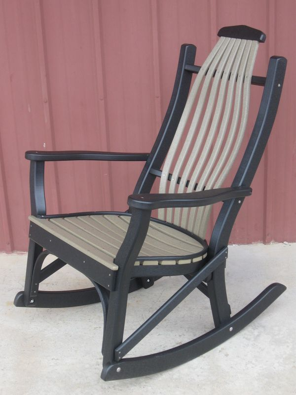 Merveilleux Composite Outdoor Rocking Chairs