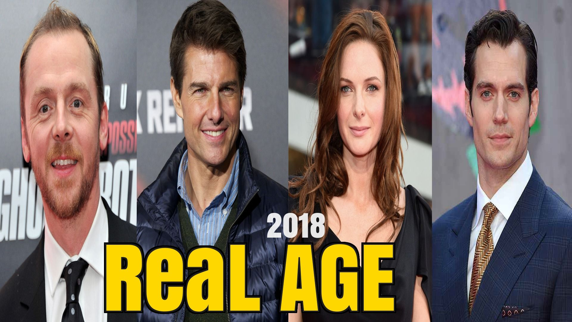 Mission Impossible Fallout Cast Real Age 2018 Tom Cruise Mission Impossible Fallout Tom Cruise Mission Impossible