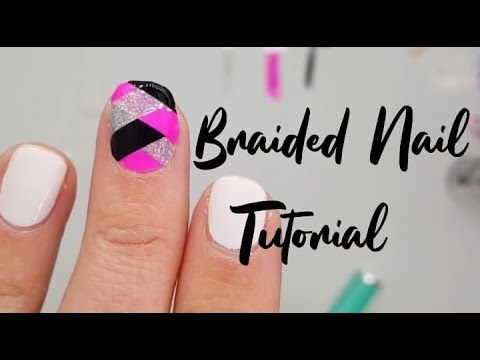 Braided Polish Tutorial with Color Street nails