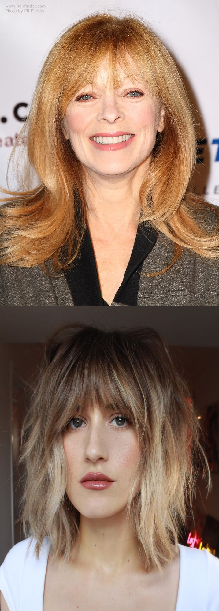 50 Most Trendy And Flattering Bangs For Round Faces In 2021 26 Haircuts For Round Faces Long 2 In 2021 Bangs For Round Face Round Face Haircuts Round Face