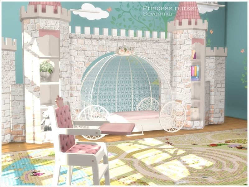 Severinka S Princess Nursery Sims 4 Sims 4 Children