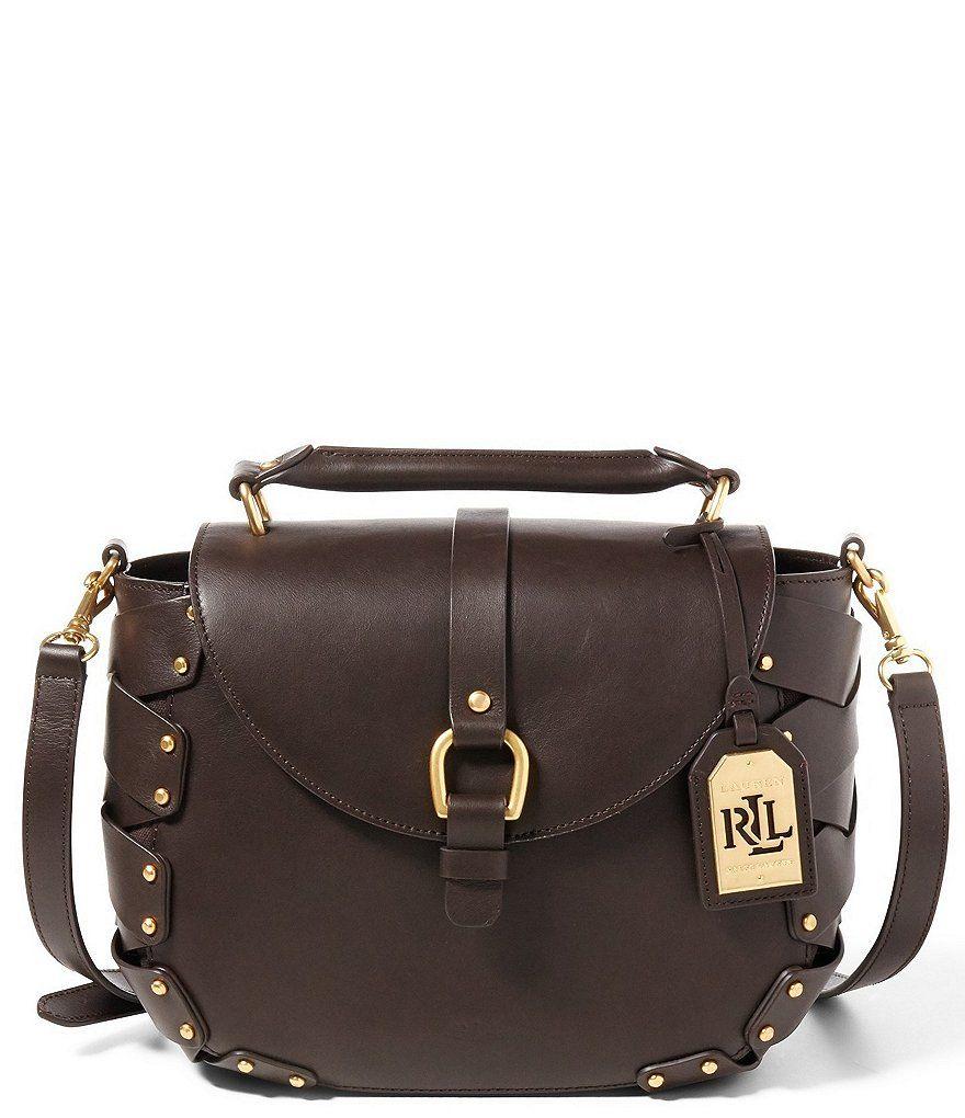 c1f43ff8fb2e Lauren Ralph Lauren Ludwick Collection Viana Saddle Bag