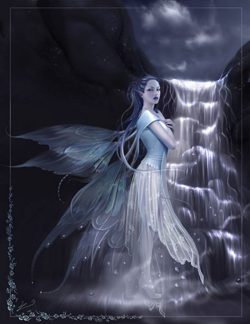 Pin Aspa Pavlidaki Fantasy Art Women Fairy