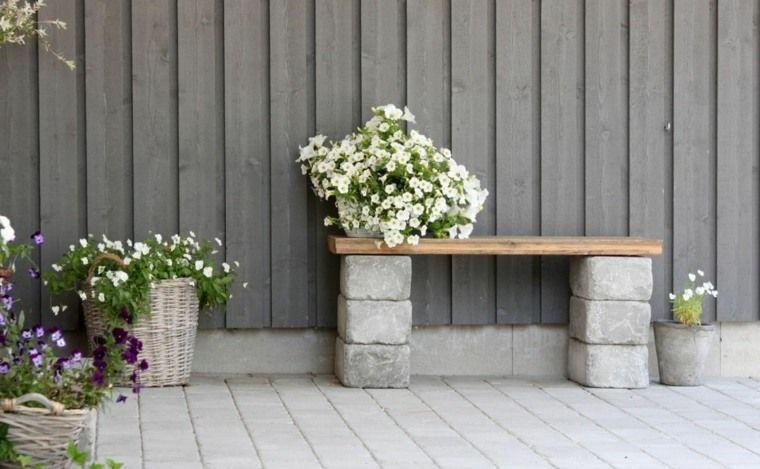 Beton Pflanzer: 27 coole Ideen für ein modernes Äußeres #betonblockgarten