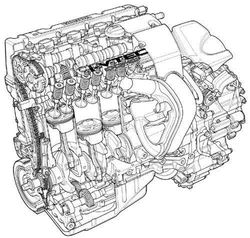 honda k20a motor draft