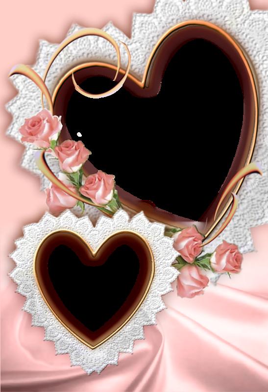 Свадебное сердце для открытки