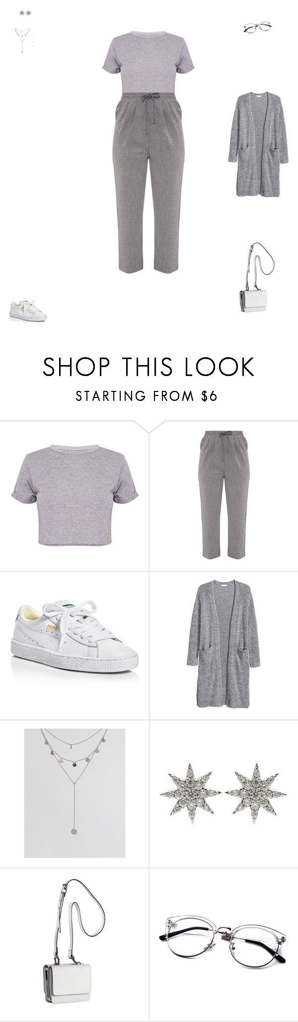 """""""#3"""" by kitten27 ❤ liked on Polyvore featuring BasicGrey, Diya, Puma, ASOS, Bee Goddess and Kendall + Kylie"""