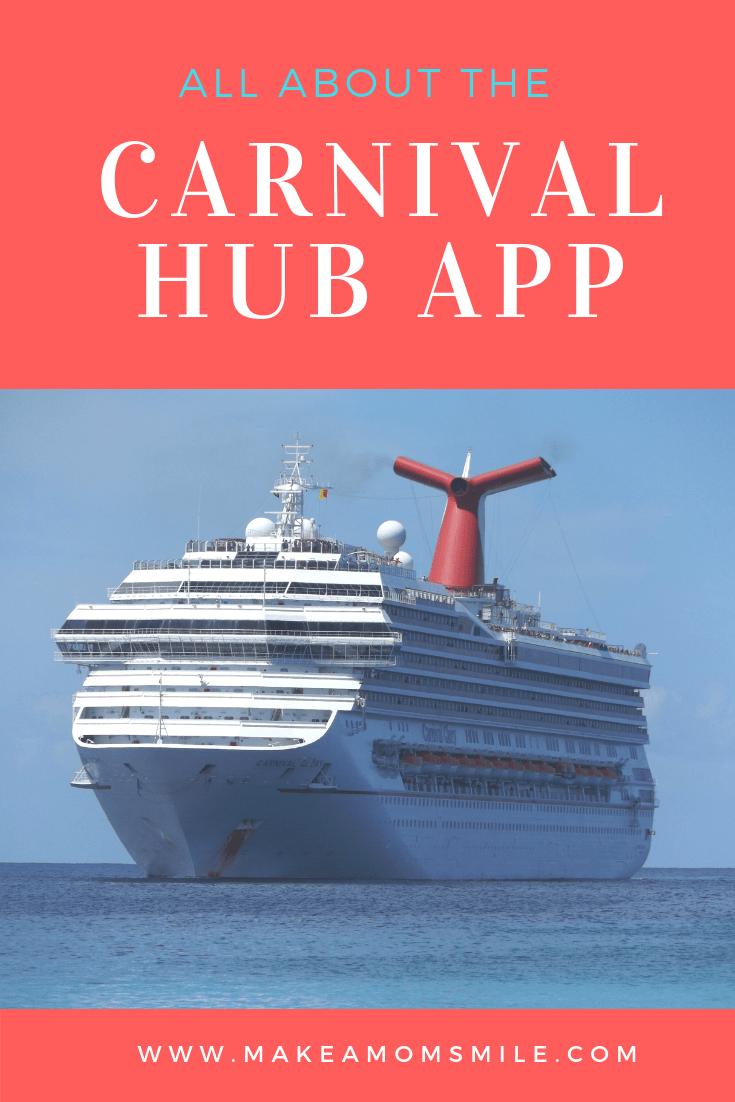 Carnival HUB App   cell phones   Carnival cruise tips