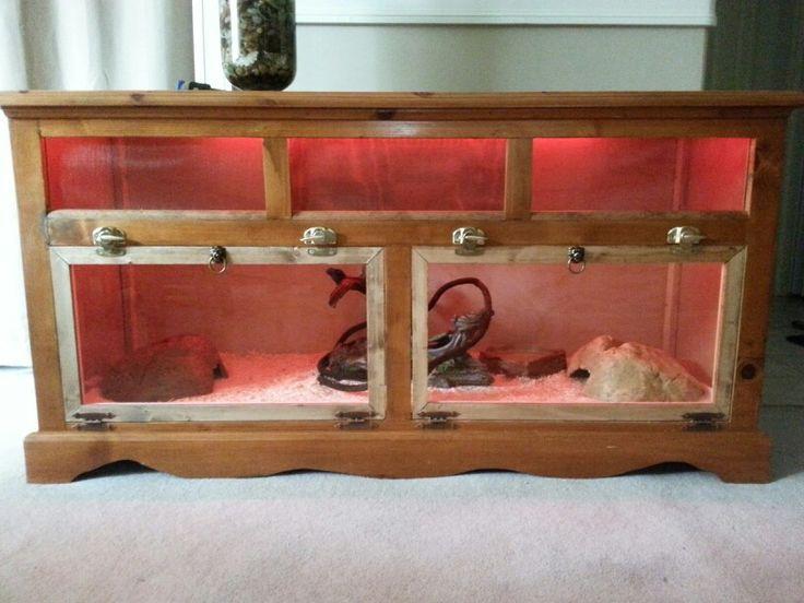 Homemade Reptile Cage Diy Snake Enclosure Diy Reptile