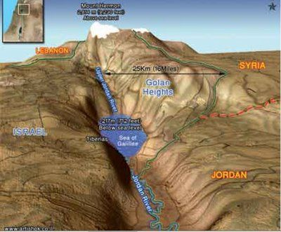 Israel Topography topographical map PressTV Was Israel in