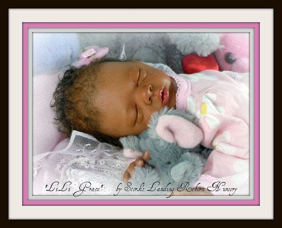This listing is for a CUSTOM order of a completed reborn baby doll from the Daisy sculpt (Bonnie Brown). She is a precious little Preemie