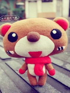 Download Free Cute Teddy Bear Mobile Wallpaper Contributed By