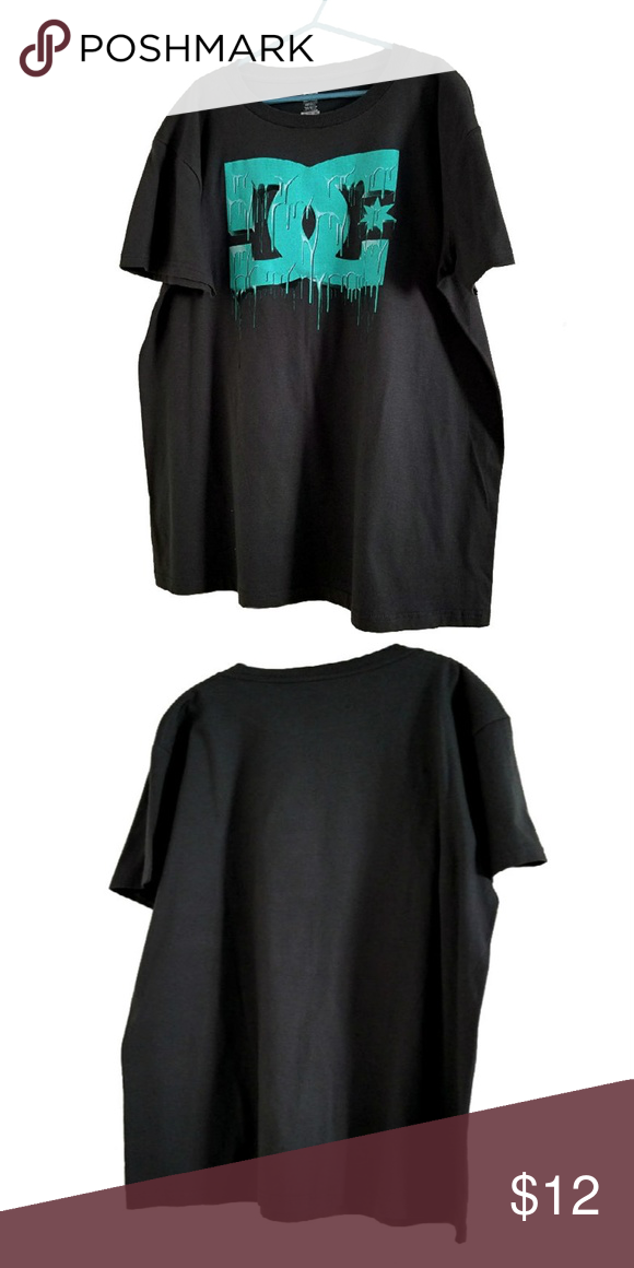 ~NEW~ YOUTH BOYS DC SHOES the orignals SHORT SLEEVE T-SHIRT BLACK