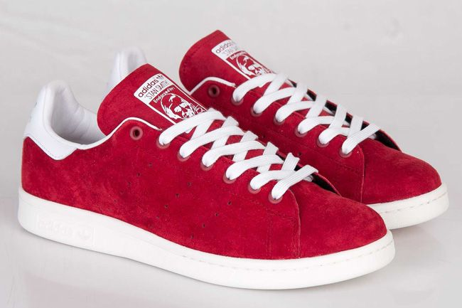 adidas Stan Smith 'Suede' (St Nomad Red  3cdfea8d8d40