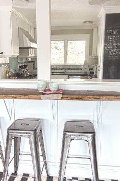 My Houzz Hillside Home In Northern California Simple Kitchen Design Contemporary Kitchen Kitchen Bar