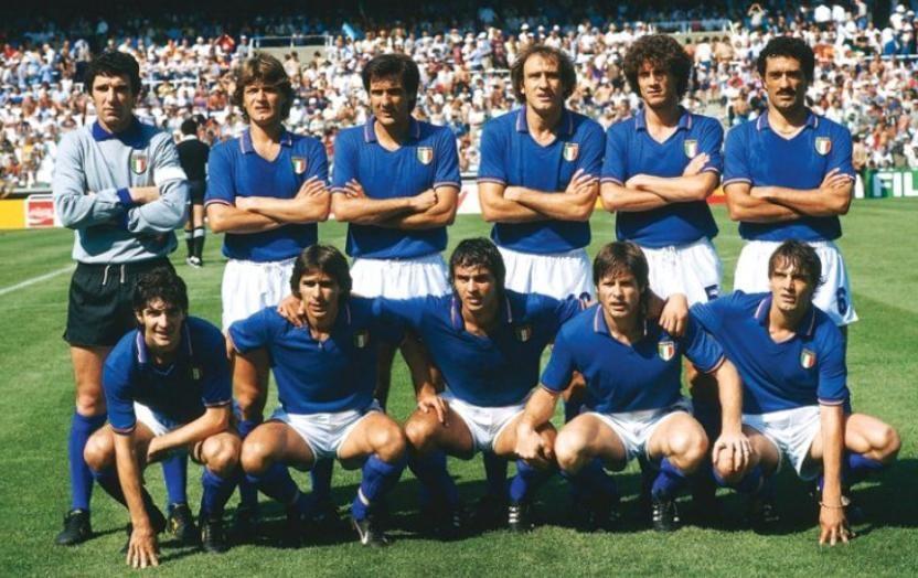 Resultado de imagem para italia campeon 1982