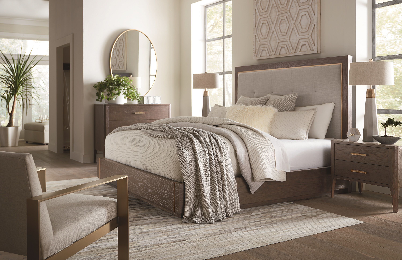 Modern Astor Bed Guest Bedroom Decor Bassett Furniture Bedroom Beautiful Bedroom Designs