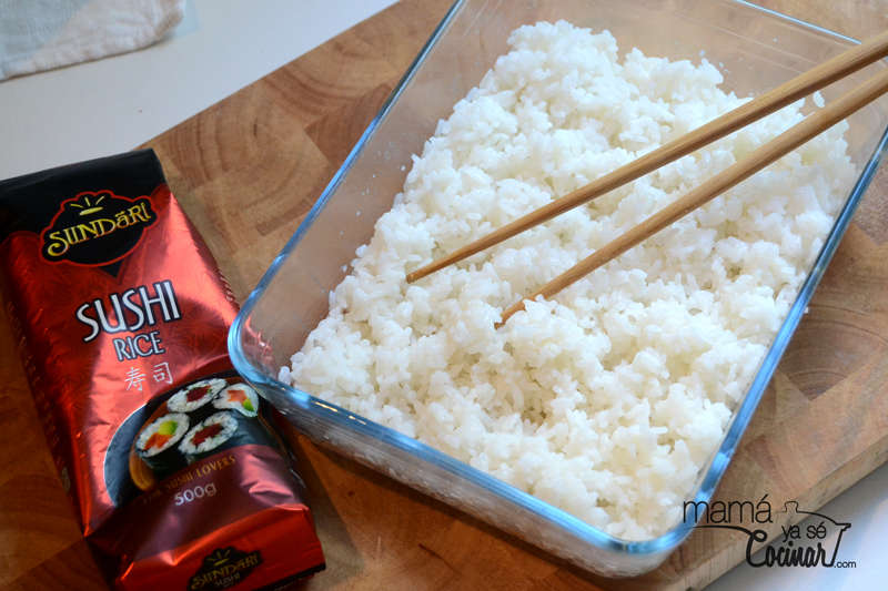 Como Cocinar Arroz Para Sushi | Como Hacer Arroz De Sushi Mama Ya Se Cocinar Cocina Pinterest