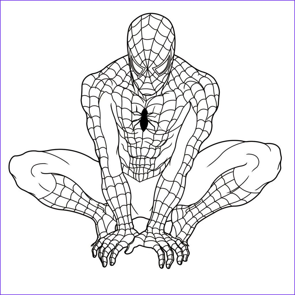11 Best Of Printable Spiderman Coloring Pages Image Spiderman Coloring Superhero Coloring Pages Superhero Coloring