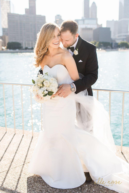 Chicago wedding dresses  Traditional Black Tie Chicago Wedding  Martina Liana wedding dress