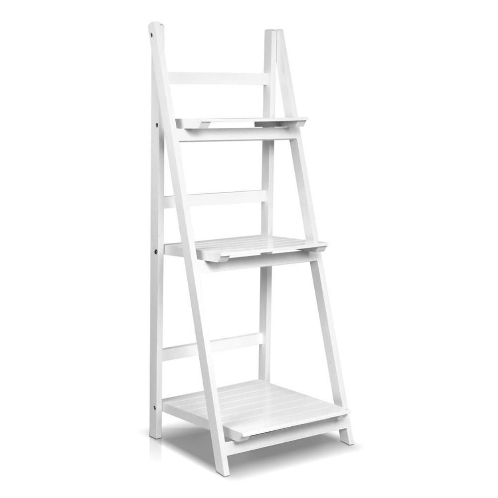 White wooden ladder display shelf bedroom beth pinterest