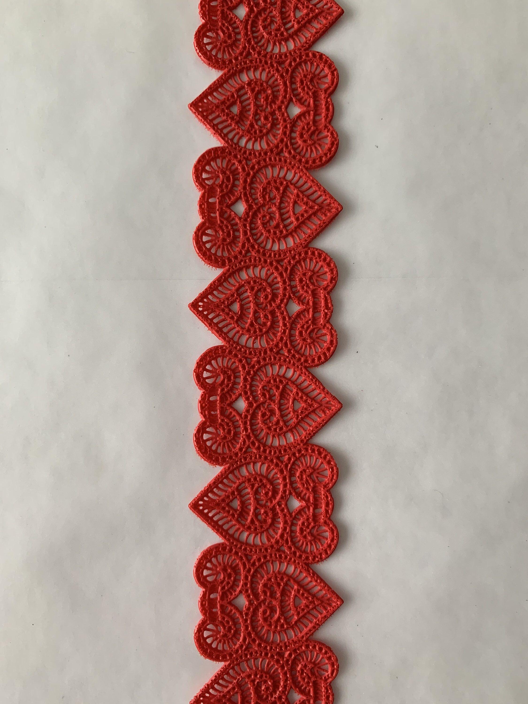 Edible Lace - Narrow 3D Renaissance Design Sugar Lace ...