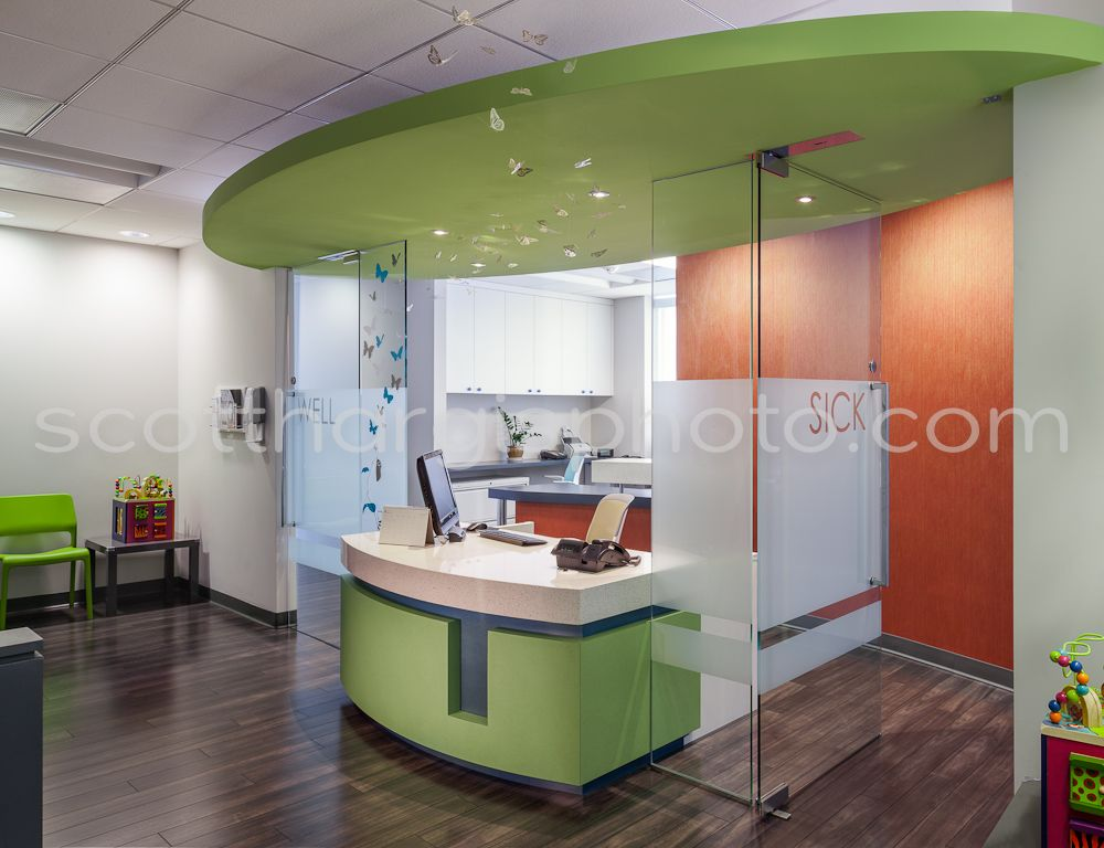Pediatric Office By Martinkovic Milford Decorating