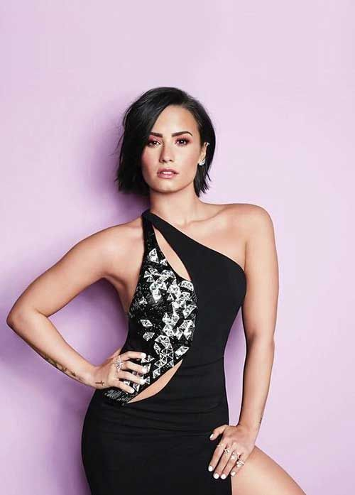 10.Celebrities-Short-Hair-2015.jpg 500×697 pixels   Demi ...