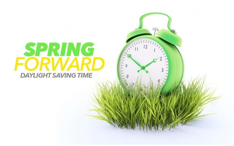 Spring forward time change clock for 2015 daylight for When was daylight savings time started